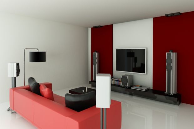 Efficient And Smart Ways To Create And Decorate A Small TV Room